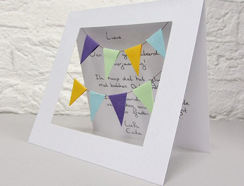 Happy Birthday Garlands card