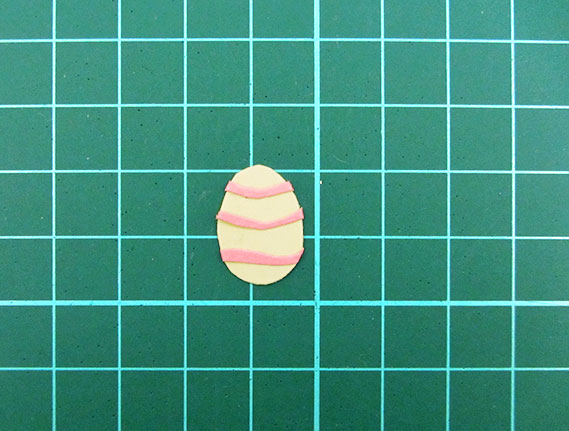 easter, bunny, egg, card, step 17