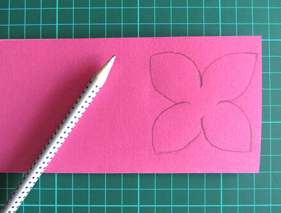 Craft a spring flower card crea bea cards spring mother day flower card step 2 ccuart Image collections