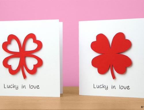 Love clover card