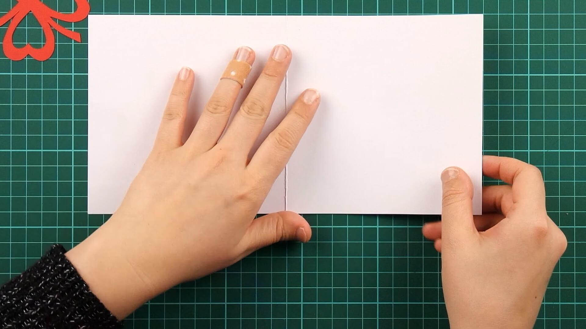 love, clover, card, tutorial step 12
