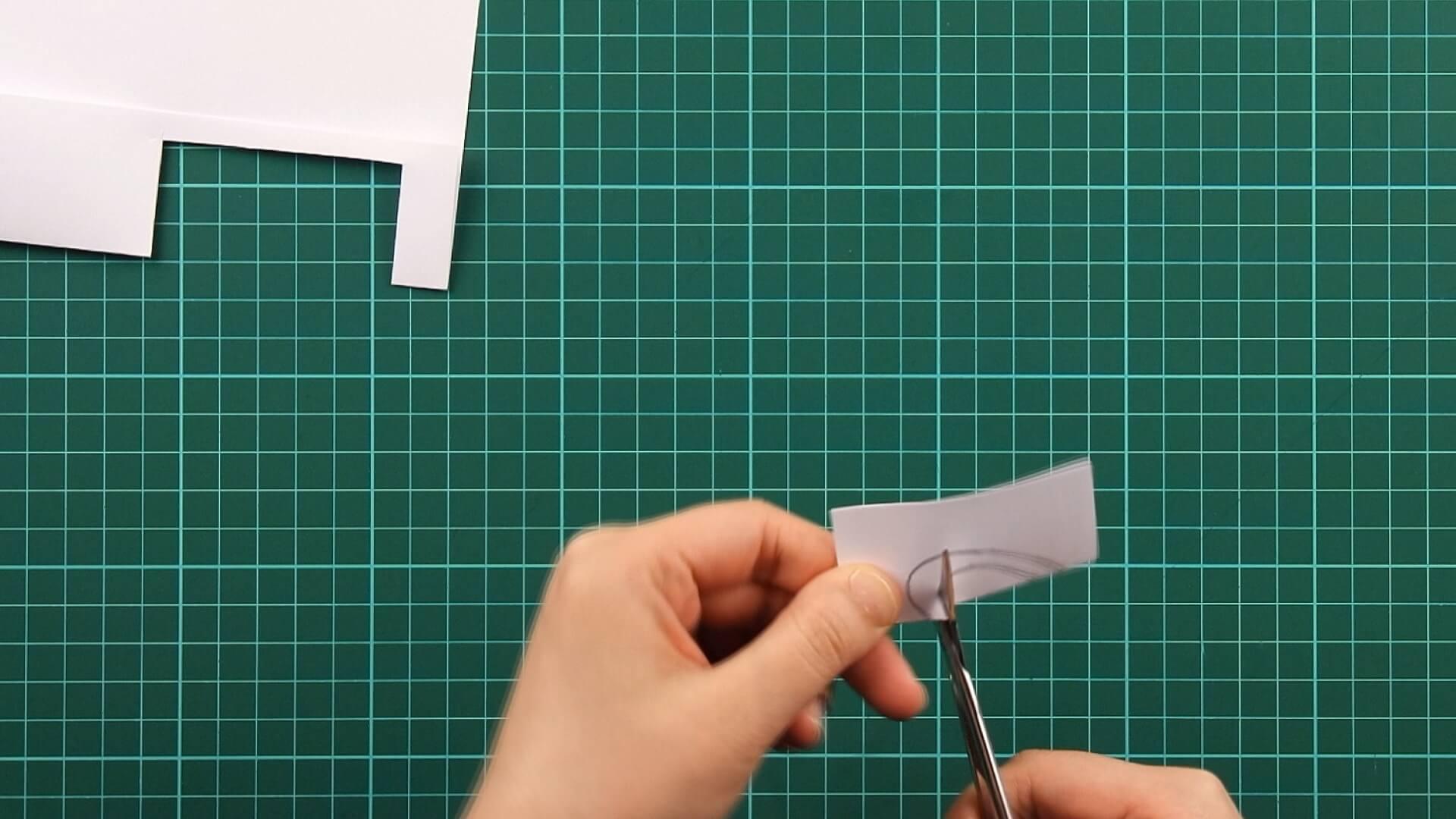 love, clover, card, tutorial step 2